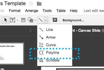 Using-Polyline-Google-Docs